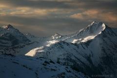 Abstieg von Der Hütte - Blick nach Süden