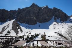 Lachenspitze von der Landsberger Hütte aus gesehen