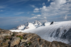 Die Welt gesehen von der Müllerhütte (3.145m)