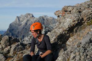 Caterina auf dem Vorderer Tajakopf (2.450m)