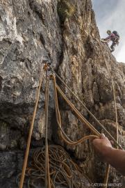 Klettern Sella
