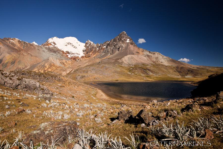 Laguna Susucocha with Diablo Mudo